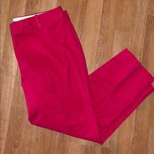 3/$15 Talbots | Red Cotton Capris